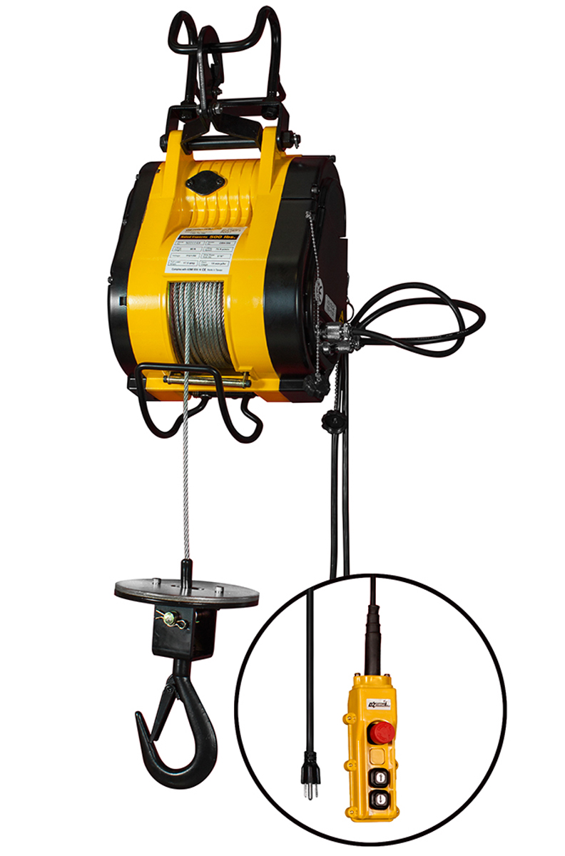 Oz Electrical Builders Hoist Cable Lift 500 Lb Capacity New Construction Electric Wiring Harry Electrician 500lb