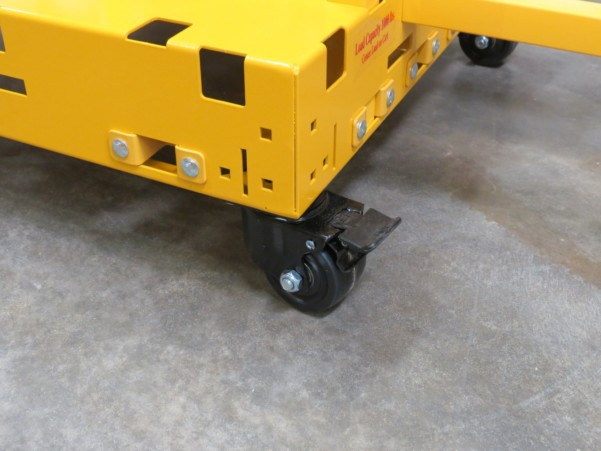 Safety Dolly Cart With Locking Casters 1