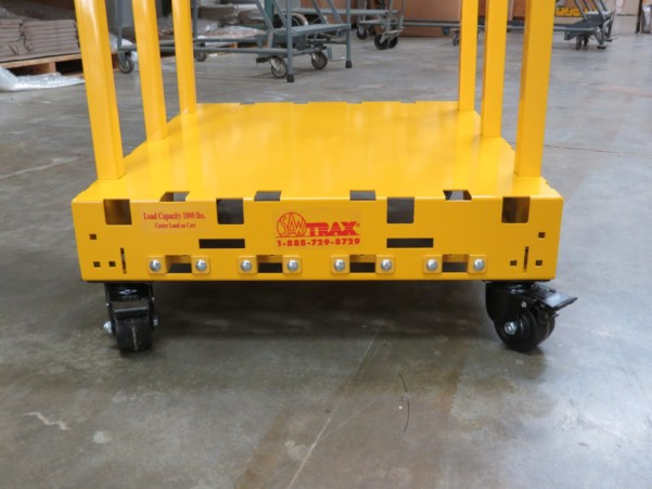 Safety Dolly Cart With Locking Casters 2