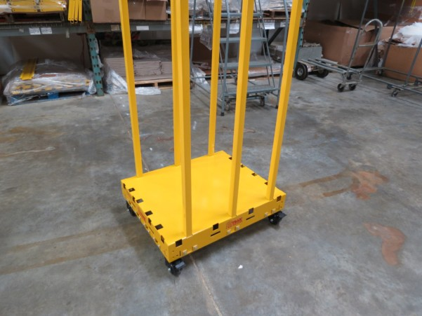 Safety Dolly Cart With Locking Casters 3