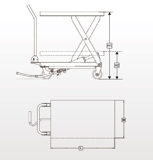 Scissor Lift Drawing