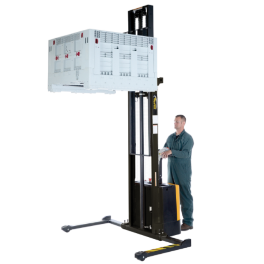 Vestil Motorized Stacker Lift And Drive S-150-AA 4