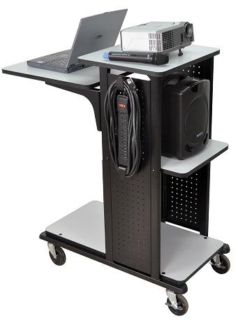 Adjustable Av Cart Amp Presentation Stand