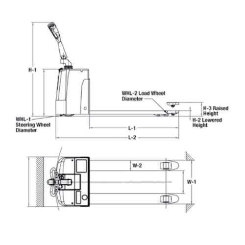 Wesco DeLuxe Power Pallet Truck 3