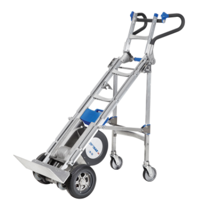 Wesco liftkar hd 725 lb x tall electric stairclimber hand for Motorized stair climbing dolly