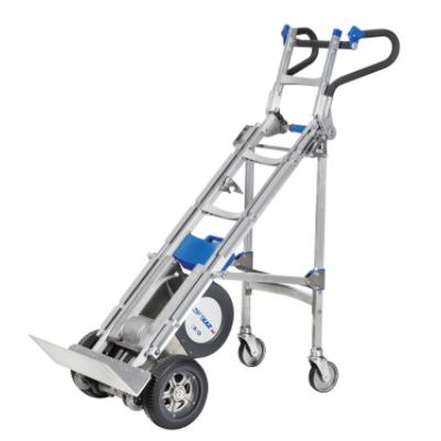 Wesco liftkar hd 725 lb x tall electric stairclimber hand for Motorized hand truck rental
