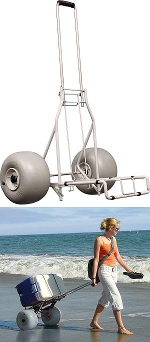 Top 10 Best Beach Carts & Caddies for 2018 | Heavy.com |Big Wheels Beach Buggy