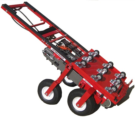 Steprider stair climbing electric automatic hand truck for Motorized stair climbing dolly rental