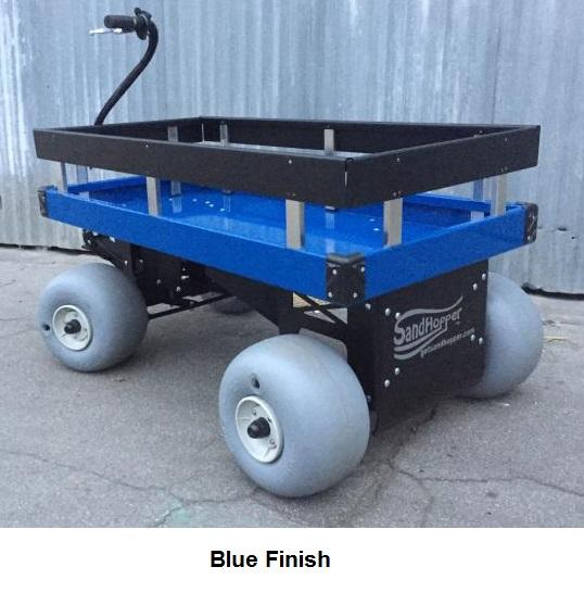 Beach Cart for Soft Sand | Big Balloon Wheels | 3 ... |Big Wheels Beach Buggy