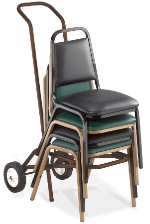 Charmant Stackable Chair Cart