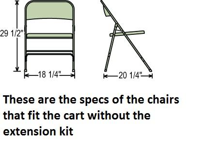 Chair Cart - Coat Hanger Combo thumbnail