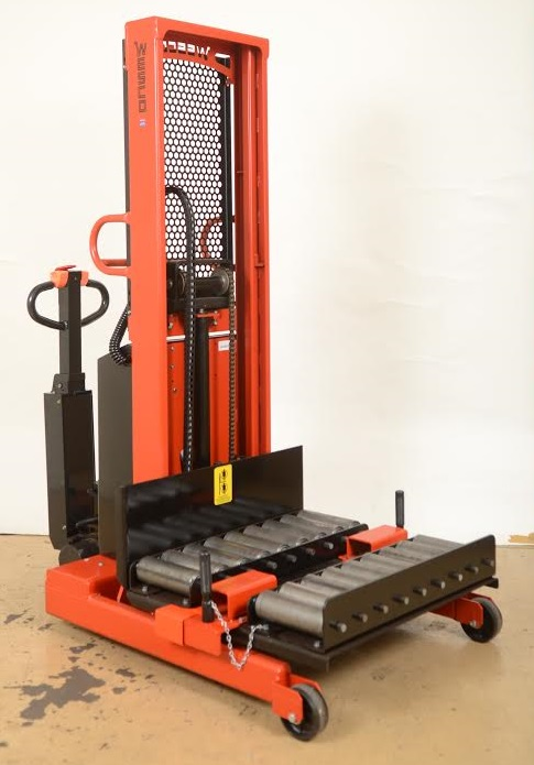 Custom Die Electric Stacker With Side Loading Transfer
