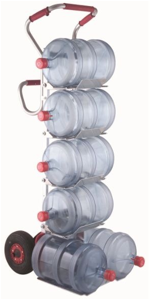 Electric Stair Climbing Hand Truck For Water Bottles