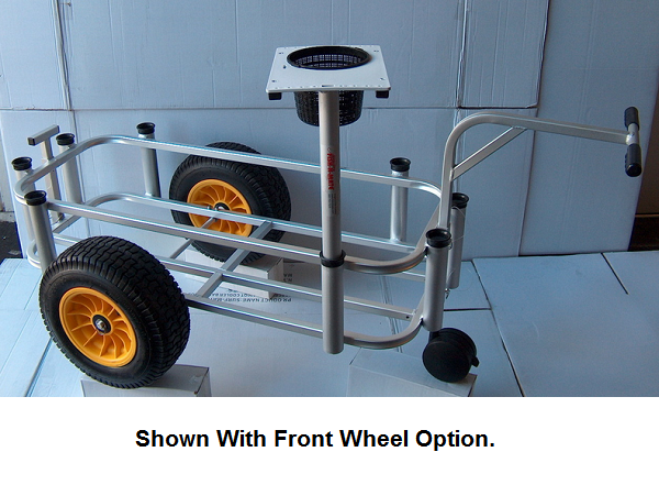 Fish-N-Mate Senior Fishing Cart with Poly Wheels thumbnail
