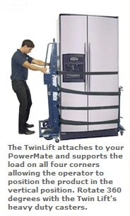 twinlift electric hand truck