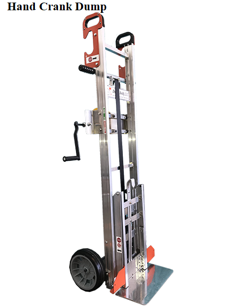 Dump Dolly Garbage Can Hand Truck Lift