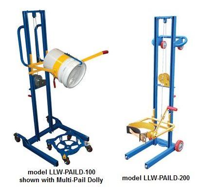 5 Gallon Pail Lift And Dumper 125 200lb Capacity