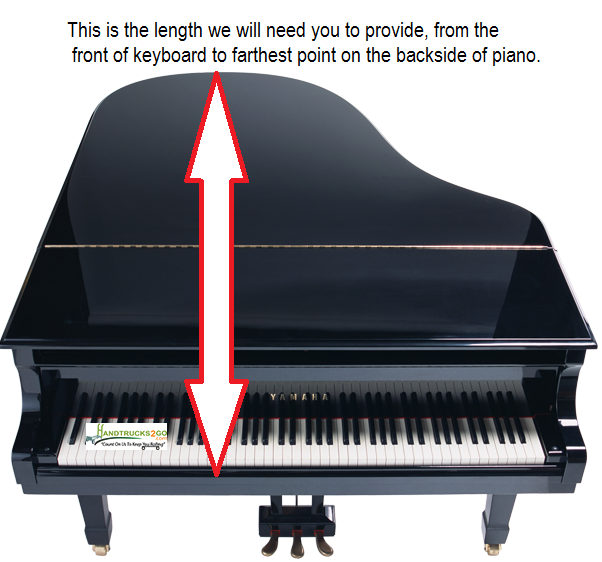 Grand piano dolly will fit any piano for What size is a grand piano