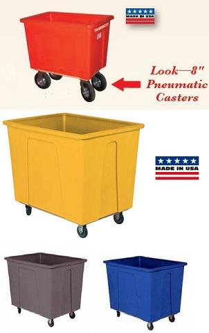 wesco plastic box cart truck