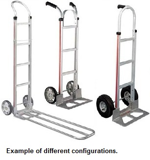 some configurations of Build your own magliner hand truck