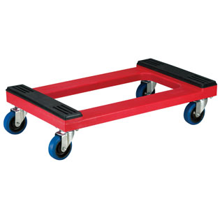 AkroMils Plastic Furniture Dolly With Rubber Pads - Furniture dolly