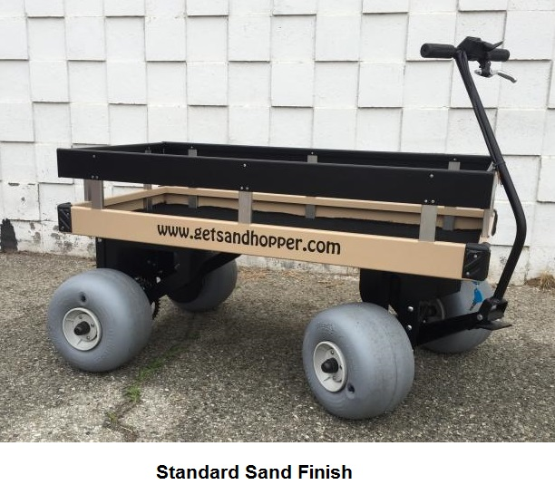 Sandhopper Mini Motorized Beach Wagon 1 thumbnail