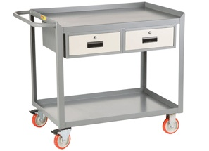 little giant utility cart with 1 or 2 drawers - Rolling Utility Cart