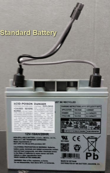 Replacement Battery For Escalera Stairclimber Hand Trucks