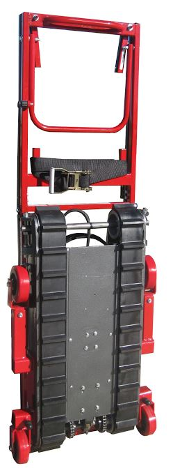 Steprider stair climbing electric automatic hand truck for Motorized stair climbing dolly