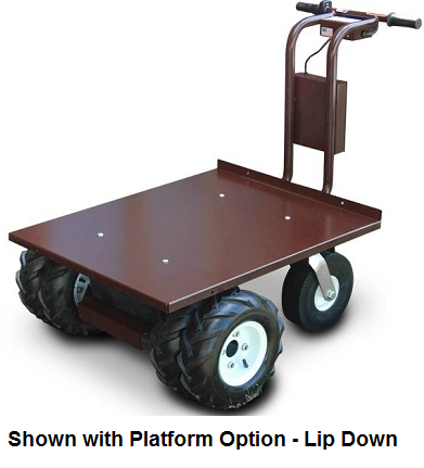 24 Hour Tire >> Battery Powered Trailer Dolly Tugger Cart - 2500lb capacity