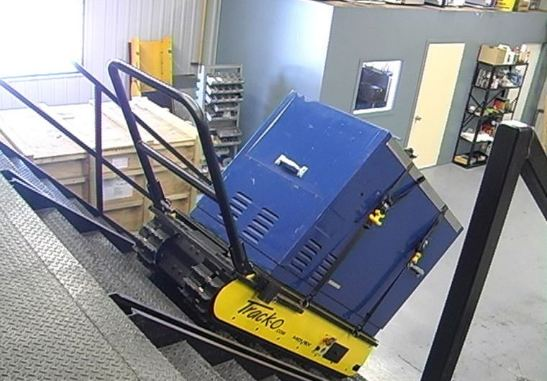 Safest Powered Stair Climber Hand Truck Handtrucks2go Com