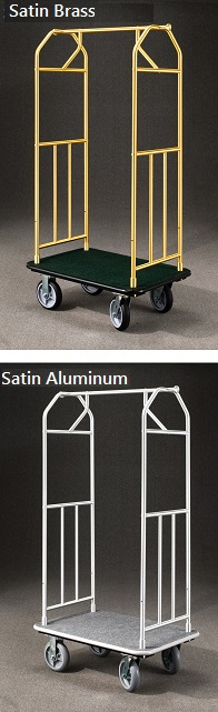 Glaro Value Bellman cart with Ball Top thumbnail