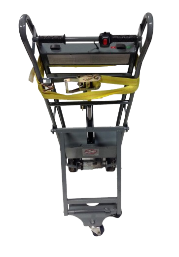 Electric dolly for vending machines for Motorized hand truck dolly