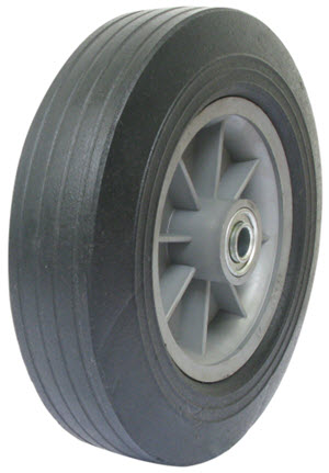 "Wheel Bearing Price >> Wesco 10"" Solid Rubber Wheels"