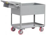 "12"" Deep 2 Shelf Order Picking Cart"