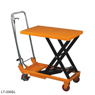 Folding Handle Scissor Lift Table