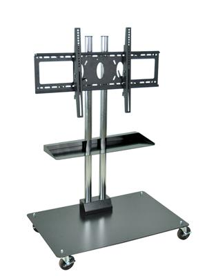 Stationary Or Mobile Flat Panel Tv Stand 50 Quot Thigh Up To