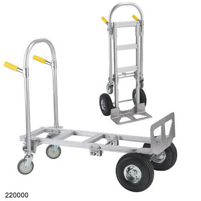 the spartan economy jr convertible hand truck is perfect for moving large loads its aluminum frame offers an 18 - Convertible Hand Truck