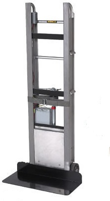 Electric hand truck that goes up and down stairs for Motorized hand truck dolly