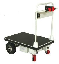 Motorized Electric Powered Platform 4 Wheel Cart