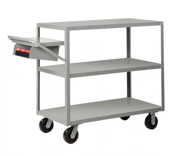 3 Heavy Duty Flush Shelf Cart - 3600 lbs Capacity