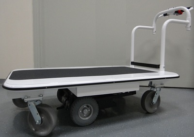 3000lb Capacity Electric Battery Power Platform Cart