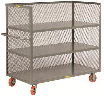 3 shelf steel