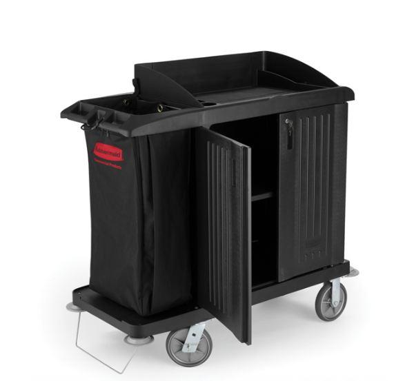 Housekeeping Cart with Doors