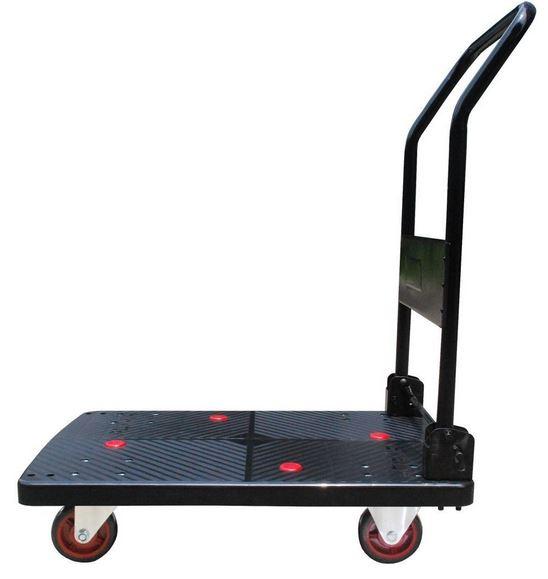 """Plastic Platform Cart 700lb Capacity 19"""" Wide x 28"""" Long"""