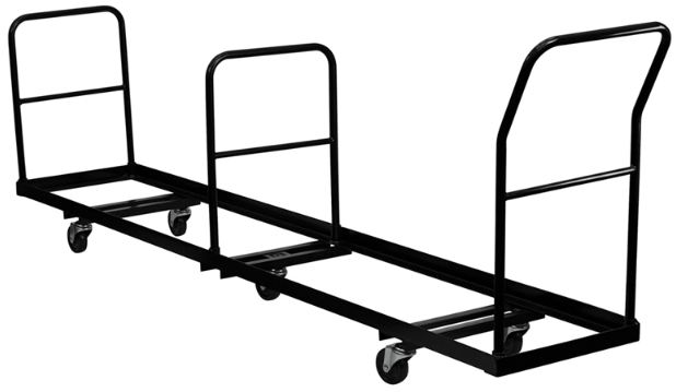50 Folding Chairs Upright Storage Truck Dolly