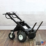 Electric Powered Transformer Hand Truck with Dual Fork