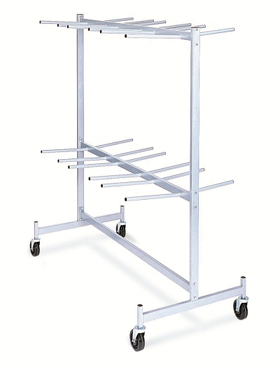 Hanging Folded Chair Storage Truck - 72 Chairs