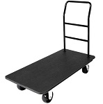 CSL Outdoor Luggage Platform Cart with Plastic Deck