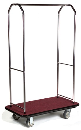 CSL Economy Bellman Cart Silver/Red
